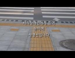 2018년 장애인식개선 공모전 UCC부문 장려상 (같이 걸어요)
