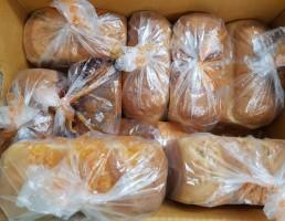 블럭제빵소 남한산성입구역점에서 전달해주신 후원품 사진